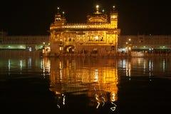 Złota świątynia przy Amritsar Zdjęcia Royalty Free