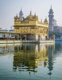 Złota świątynia, Sikhijski Gudwara w Amritsar, India fotografia royalty free
