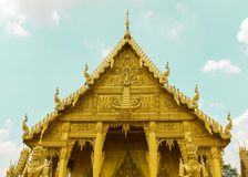 Złota świątynia Złota świątynia Zdjęcia Royalty Free