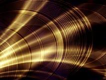 złota abstrakcyjne tła sławy Zdjęcie Royalty Free