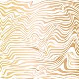 Złota abstrakt fala linii atramentu tekstura royalty ilustracja