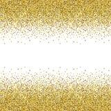 złota błyskotliwości tekstura Obrazy Royalty Free