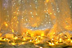 Złota błyskotliwości tekstura Colorfull Zamazywał abstrakcjonistycznego tło dla urodziny, rocznicy, ślubu, nowy rok wigilii lub b zdjęcia royalty free