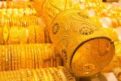 Złota biżuteria obrazy royalty free