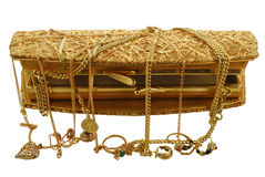 złota biżuteria Zdjęcie Stock