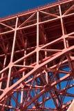 złota bridżowa brama Zdjęcie Stock
