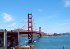 złota bridżowa brama Obraz Royalty Free