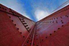 złota bridżowa brama Obrazy Stock