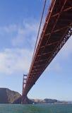 złota bridżowa brama Obrazy Royalty Free