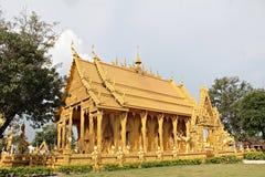 złota Buddha świątynia Obrazy Stock