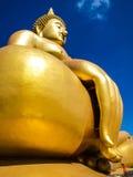 złota Buddha ampuła Obrazy Stock