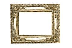 złota dekoracyjny ramowy srebro Obraz Stock