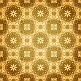 złota deseniowa bezszwowa ściana Zdjęcie Royalty Free