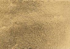 Złota foliowa tekstura Fotografia Royalty Free