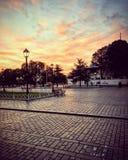 Złota godzina Istanbul zdjęcia stock