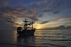 Złota godzina w Tajlandia, fotografia stock