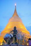 Złota Halna świątynia Zdjęcia Royalty Free