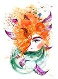 Złota jesień ilustracji