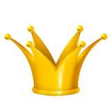 złota korona Fotografia Royalty Free