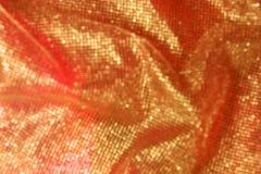Złota koronka z Bokeh siatką Fotografia Stock