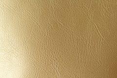 Złota lub brązu Naturalny Rzemienny tło Błyszczący żółty liść złocistej folii tekstury tło miejsce tekst zdjęcia royalty free