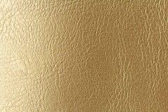 Złota lub brązu Naturalny Rzemienny tło Błyszczący żółty liść złocistej folii tekstury tło miejsce tekst zdjęcie royalty free