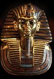 Złota maska królewiątko Tut Ankh Amen zdjęcie royalty free