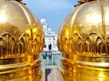 złota sikhijska świątynia zdjęcia royalty free