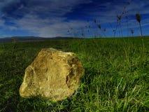 złota skała Zdjęcia Royalty Free