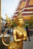 złota statua obrazy royalty free