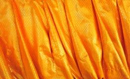 Złota tkanina Obrazy Stock