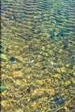 Złota wody forma w hatta jeziorze Zdjęcie Royalty Free