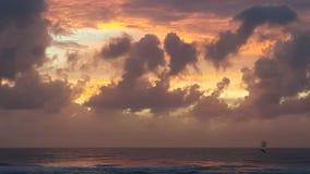 Złota wybrzeża błysku chmury Zdjęcie Stock