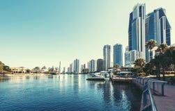 Złota wybrzeże, Queensland, Australia Fotografia Royalty Free