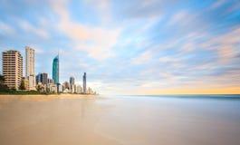 Złota wybrzeże, Queensland, Australia Zdjęcie Royalty Free