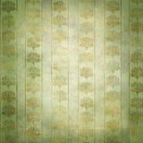 złota zielona grunge wiktoriański tapeta Zdjęcia Royalty Free