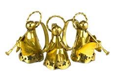 złote aniołów Zdjęcie Stock