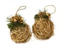 złote jaja świąt Obraz Royalty Free