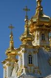 złote kopuły fotografia royalty free
