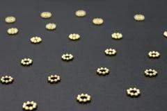 złote kropki zdjęcie royalty free