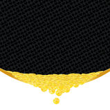 Złote monety i kostiumy uprawia hazard tło Ilustracja Wektor
