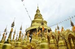Złote pagody Zdjęcie Stock