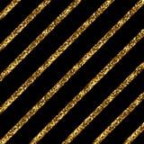 Złote przekątien linie Zdjęcie Stock