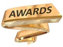Złote sztandar nagrody ilustracji