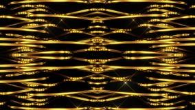 złote tło linie ilustracji