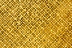 złote tło płytki Obraz Royalty Free