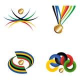 złotego medalu faborek Zdjęcia Royalty Free