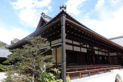Złotego pavilionï ¼ ˆKinkakuji Templeï ¼ Złoty ‰ Kyoto Japonia Fotografia Royalty Free
