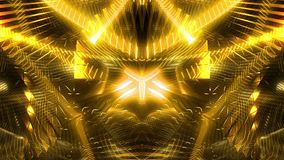 Złotej łuny tło ilustracji