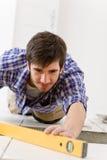 złotej rączki domowego ulepszenia pozioma płytka Obrazy Royalty Free